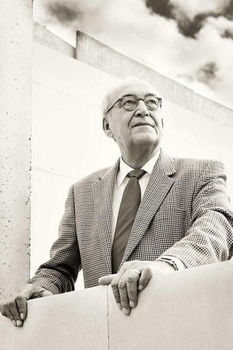 Politikerportrait für eine Pressebericht fotografiert vom Fotograf A. Vejnovic, Düsseldorf