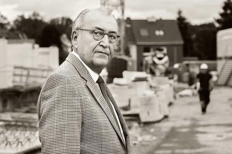 Portraitfotografie eines Politiker für eine Veröffentlichung in der Presse, Fotograf A. Vejnovic, Düsseldorf