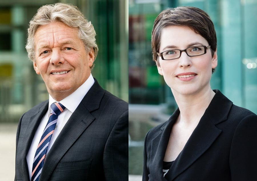 Business Shooting: Businessfoto Outdoor in Düsseldorf für Geschäftsberichte