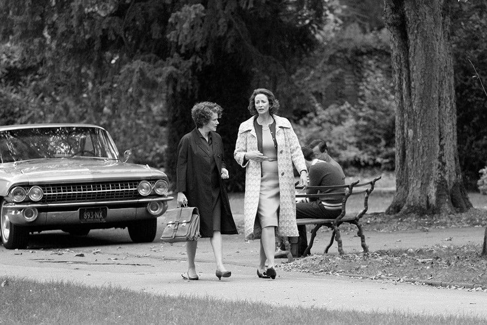 Barbara Sukowa und Janet McTeer im Hannah Arendt Film