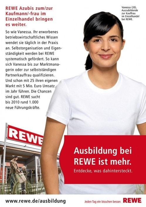 Peopleshooting - Werbefotografie für die REWE