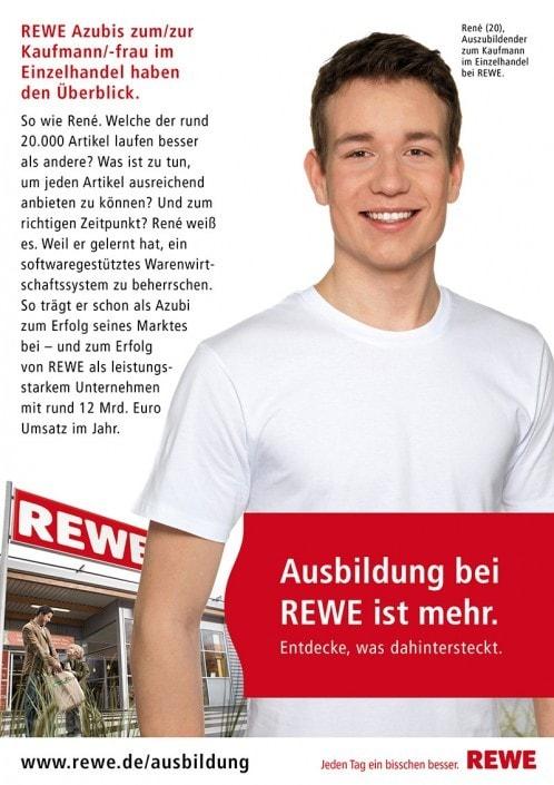 Fotostudio Düsseldorf fotografiert Werbefotos für die REWE