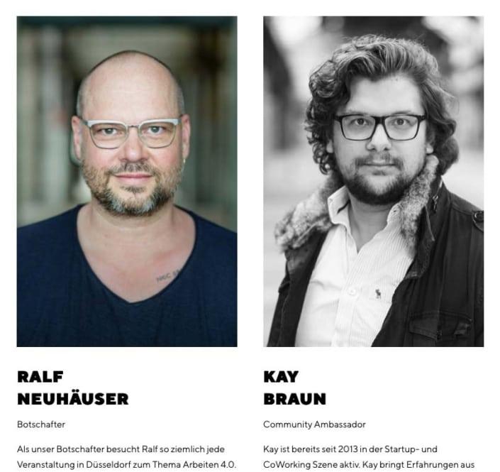 authentische Mitarbeiterfotos in Düsseldorf