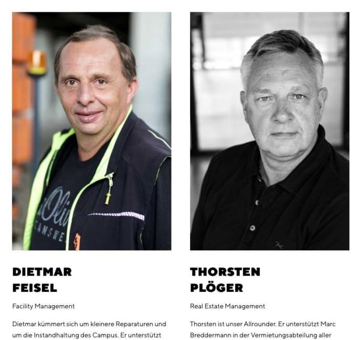 neue Mitarbeiterfotos in Düsseldorf